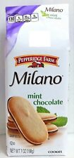 Pepperidge Farm Milano Mint Chocolate Cookies 7 oz