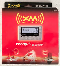 Roady Xt Xm Sirius Satellite Radio Sa10276 w/ Accessories by Delphi