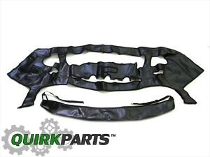 2015-2020 JEEP RENEGADE TRAILHAWK FRONT END HOOD COVER BRA PROTECTOR OEM MOPAR