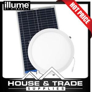 Illume Skylight Alternative 350mm Round Roof Solar PREMIUM KIS1014TA