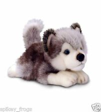 "*NEW* HUSKY ""STORM"" PUPPY DOG SOFT STUFFED ANIMAL PLUSH TOY 30cm"
