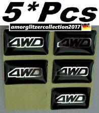 >5*Pcs< Auto Universal Epoxy 3D Sticker Abzeichen Aufkleber Dekorative Decals