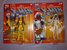 Marvel Legends Lot X-men: Rogue and Storm