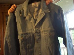 Blue Jean Jacket By Pepsi  Size  X-Large   New