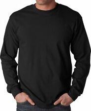 Big Men's Gildan Long Sleeve Tee Shirt Size 3XL 4XL 5XL Cotton T-Shirt