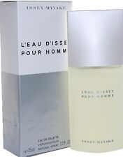 ISSEY MIYAKE L' EAU D' ISSEY 2.5 OZ EDT SPRAY FOR MEN NEW IN A BOX