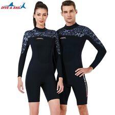 1.5mm Neoprene Wetsuits Men Women Thermal Warm Scuba Snorkelling Long Wetsuit