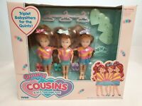 Tyco Quints Cousins Triplets Dolls Sunset-Outfit Puppen NrfB Mint in sealed Box