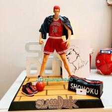 SlamDunk Hanamichi Sakuragi Figure Model Pvc Model Painted 33cmH In Box In Stock