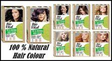 100 % Natural Hair Colour BIO VITAL Organic Colorant, Choice Your BEST COLOUR
