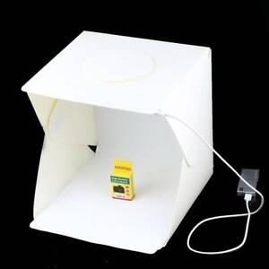 Portable Photo Studio Lighting Mini Box Photography Backdrop LED Light RoomTent
