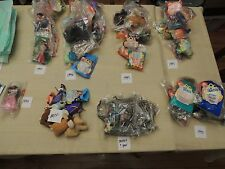 Huge Lot of late 90's Unopened McDonald's Toys 67 Toys NIP