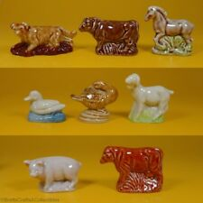 Wade Whimsies (1982/83) Tom Smith - Set #5 Farmyard Animals Series - Full Set