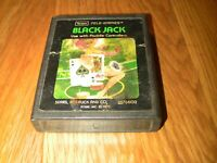 BLACKJACK (Sears Picture Label) Atari 2600 Game Cartridgeuntested