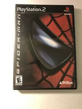 Spider-Man: The Movie (Sony PlayStation 2, 2002) - Complete W/ Manual