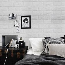 60x60cm DIY 3D Brick Wall Stickers PE Foam Safety Free DIY Room Home Decor