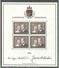 Liechtenstein 614 KB sauber postfrisch Kleinbogen Bogen 538 I Michel 65,00 € MNH
