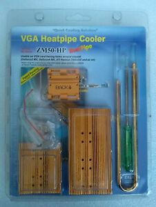Zalman ZM80A-HP Noiseless VGA GPU Heatpipe Cooler Sealed