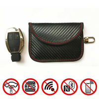 1PC Car Key Signal Blocker Case Faraday Cage Fob Pouch Keyless RFID Blocking Bag
