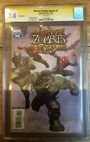 Marvel Zombies Return #1 1:50 Suydam Variant Signed CGC SS 9.4 1117281001