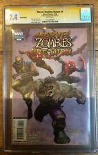 Marvel Zombies Return #1 1:50 Suydam Variant Signed CGC SS 9.4 1117281001