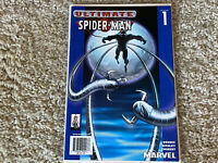 "2002 Ultimate Spider-Man #1 ""BLUE COVER TARGET VARIANT LIMITED EDITION"" NM+"