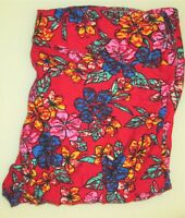 LulaRoe TC Tall And Curvy Leggings Pretty red floral