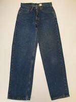 KK665 MENS LEVI'S 550 FADED BLUE STRAIGHT LEG CASUAL DENIM JEANS UK  M W31 L32
