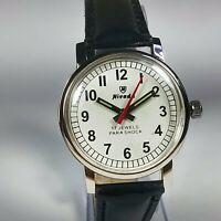 Vintage Nivada Mechanical Hand Winding Movement Mens Analog Wrist Watch BA65