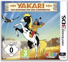 Nintendo 3DS Yakari Das Geheimnis von Vier Jahreszeiten Top Zustand