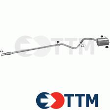 FIAT PANDA II 1.1 1.2 54/60cV 2003-2012 Ligne D'échappement Silencieux