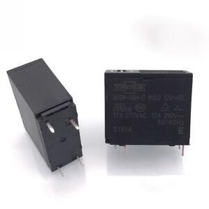 SONGCHUAN  302P-1AH-C MO2 12VDC Power Relay 12VDC  4Pin 17A 250V