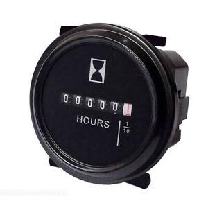 12V 24V 36V Betriebsstundenzähler für Auto Marine Boot Traktor Motor 2'' Gauge