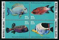 👉 MARSHALL IS. 1985 LAGOON FISH MNH (PAL-AL)