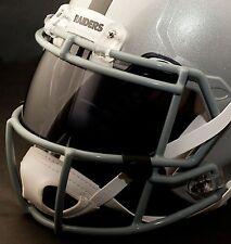 *CUSTOM* OAKLAND RAIDERS NFL OAKLEY Football Helmet EYE SHIELD / VISOR