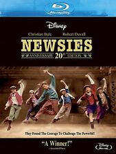 NEWSIES : 20th Anniversary Edition -  Blu Ray - Sealed Region free for UK