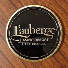 L'auberge Lake Charles Casino Poker Card Protector Card Guard Texas Hold Em