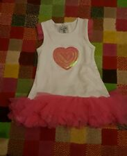 Mud pie frilly tutu Dress with sequin detail 9-12  months