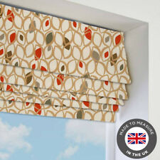Natural Patterned Roman Blind - Blackout Thermal - Made To Measure In The UK