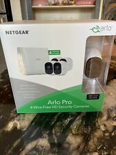 Arlo Pro - 4 Wire-Free HD Security Cameras Brand New!
