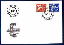SWITZERLAND - SVIZZERA - 1961 - Europa - FDC