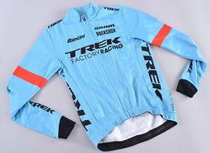 Santini Thermal Long Sleeve Jersey Women's XXS Trek Factory Racing Pro Team CX