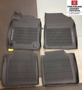 NEW OEM TOYOTA AVALON 2016-2018 ALL MODELS ALL WEATHER FLOOR LINER 4-PC SET