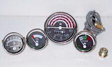 IH B250,B275,B414,276,354,434,444 Tachometer+Temp+Oil Pressure+Ampere Gauge Kit