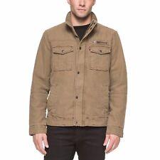 Men's Levi's Full Zip Jacket , Khaki, Size M