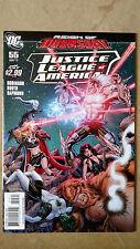 JUSTICE LEAGUE OF AMERICA #55 DAN JURGENS VARIANT FIRST PRINT DC COMICS (2011)