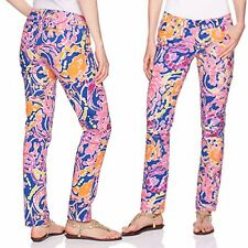 Precise New Lilly Pulitzer Kelly Skinny Ankle Pant Pink Sunset Size 6 $148 Clothing, Shoes & Accessories