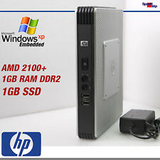 Thin Client t5730 ordenador PC 2100+ Windows 7 XP Embedded SSD 1gb rs-232 VGA DVI