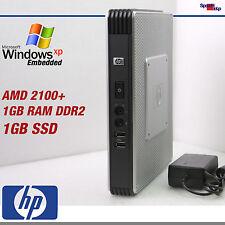 Thin Client t5730 ordenador PC 2100+ Windows 7 XP Embedded SSD 1gb rs-232 VGA DVI
