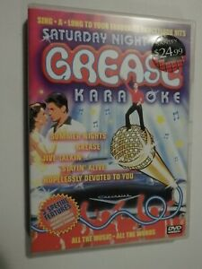 Saturday Night Fever Grease Karaoke DVD Music Sing GOOD CONDITION